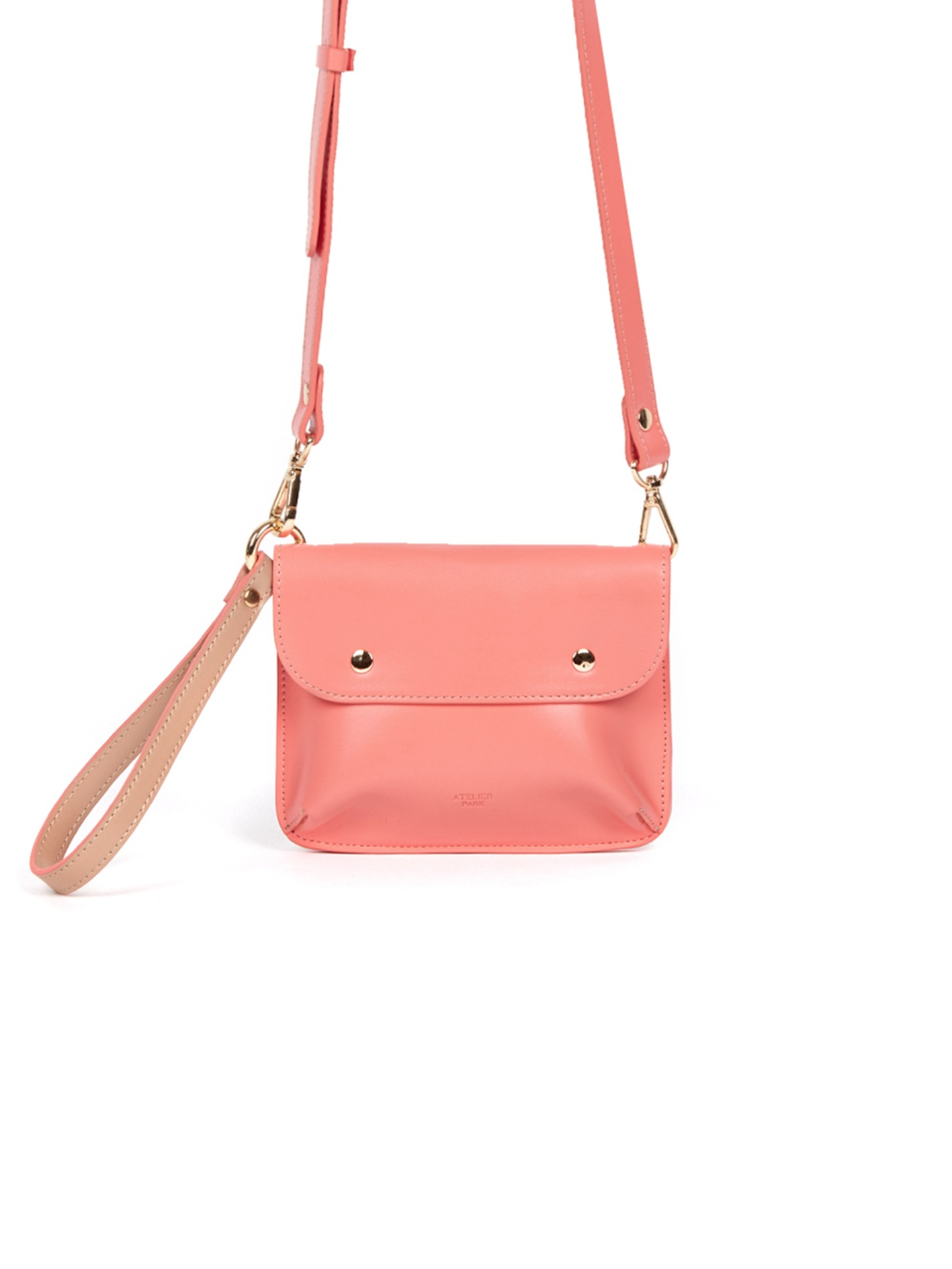 DOUBLE SIDE BAG_CORAL