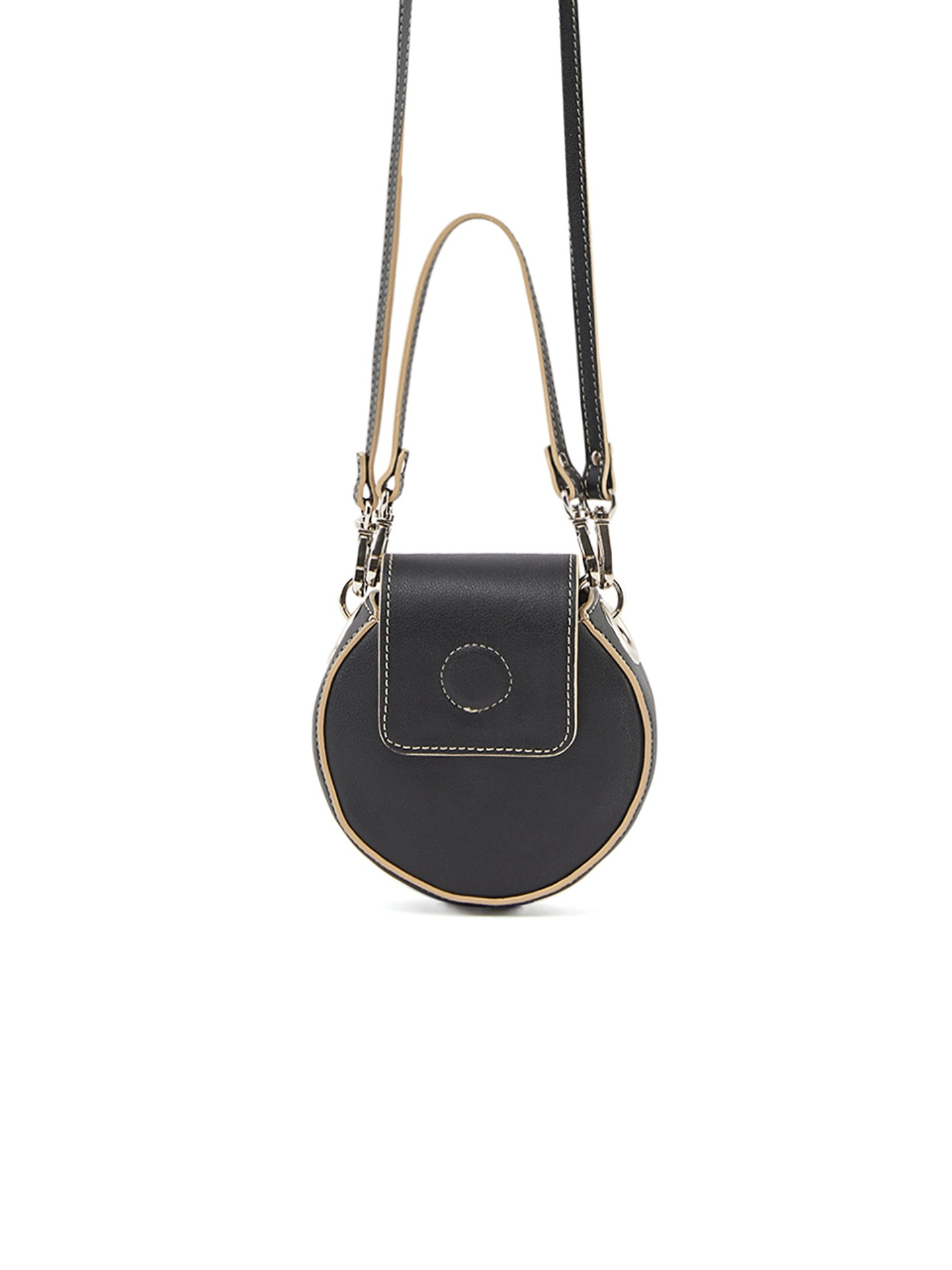 [by Atelier] NANO CIRCLE BAG _ BLACK